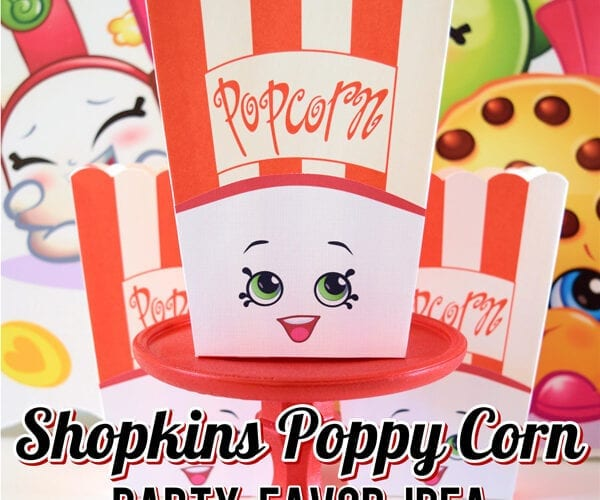 Shopkins Poppy Corn Party Favor