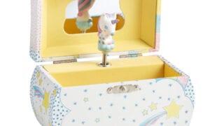 Djeco Unicorn Wood Music Box