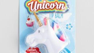 Unicorn Cotton Candy Lip Balms Set of 2