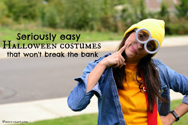 Seriously Easy Halloween Costumes