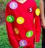 DIY Skittles Costume