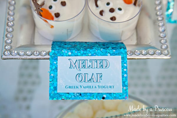 Original Melting Olaf Frozen Party Food Made By A Princess