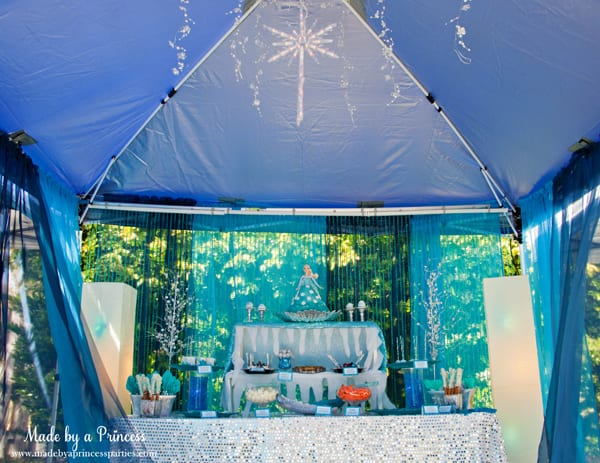 Magical Frozen Birthday Party Ideas Made By A Princess
