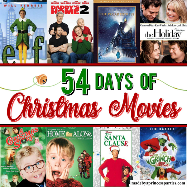 The Ultimate Christmas Movie Night Ideas List
