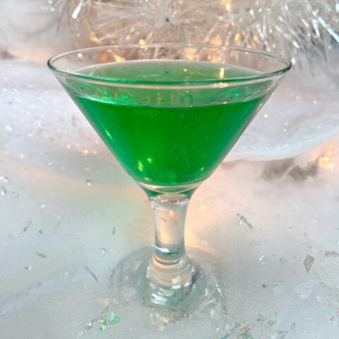 Mistletoe Peppermint Patty Cocktail