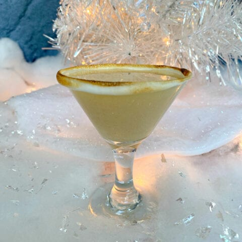 Toasted Marshmallow Martini Recipe