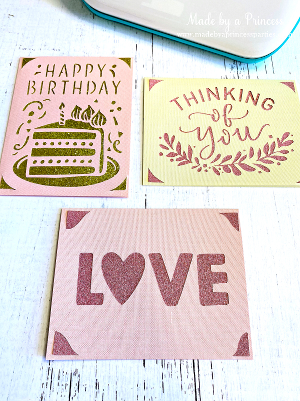 Create greeting cards in minutes with Cricut Joy