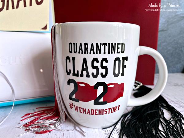 Create a personalized graduation mug with Cricut Joy