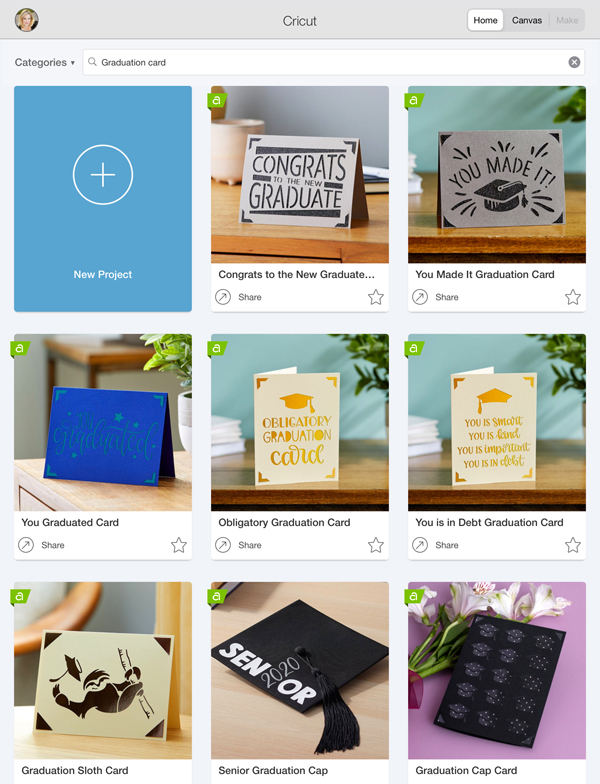 You can easily design cards on your iPhone or iPad choose your design first