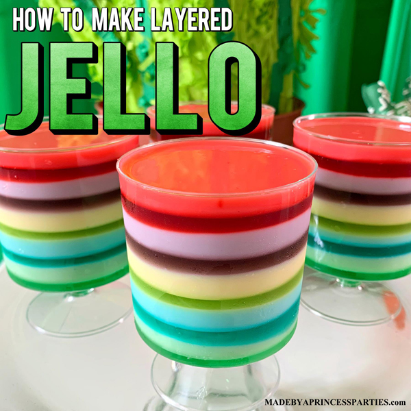 Learn How to Make Layered Rainbow Jello with Condensed Milk today
